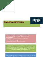 DD 1-UROGENITAL (SINDROM NEFROTIK)
