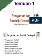 1-Statistika Deskriptif
