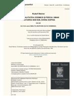 Rudolf Steiner - Omul in legatura sa cu Cosmosul (Vol. 2)