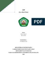 laporan kasus CVA & LBP