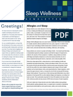 Sleep Newsletter 4 2014