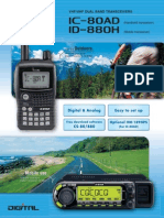 ICOM IC-80AD Brochure