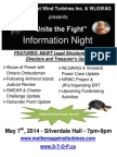 Information Night - Silverdale - May 7 2014