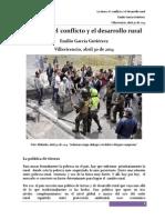 La Tierra El Conflicto y El Desarrollo Rural