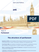 topic 8 parliament