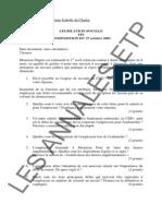 Législation Sociale 2003 2005 - Corrections