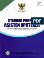 Standar profesi Asisten Apoteker (AA)