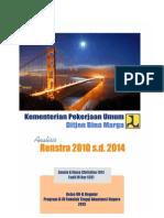 Analisis Renstra Kementerian PU 2010-2014