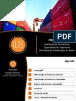 Portos2021 Avaliacao de Demanda e Capacidade Do Segmento Portuario de Conteineres No Brasil