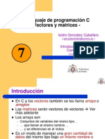 7-Vectores y Matrices