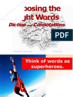 Word Choice Connotation 120119095804 Phpapp02