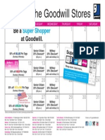 Goodwill's May Retail Calendar