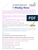 t3 fs1 weekly newsletter 1st may 2014