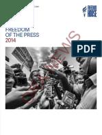 Raporti i Freedom House për lirinë e medias