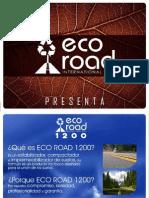 Presentación -Eco Road International Sac