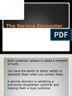 Topic 5 the Service Encounter
