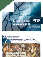 Actualidad Portuaria de Venezuela2013