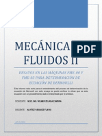 Mecánica de Fluidos II Informe a Imprimir