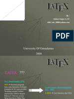 Latex Presentation