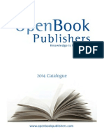 Open Book Publishers Catalogue 2014
