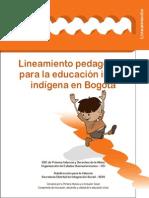 Anexo 6. Lineamiento Pedagogico Para La Educacion Indigena Inicial