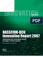 Nasscom BCG Innovation report 2007,India