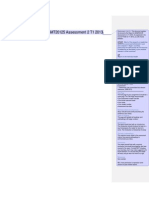 Report Format for MGMT20125 Assessment