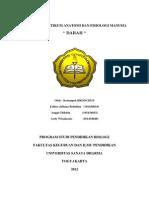 Laporan Praktikum Anatomi Dan Fisiologi Manusia Darah