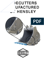 Sidecutters Manufactured by Hensley