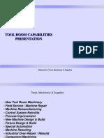 Waterstons Tool Room Capabilities V2