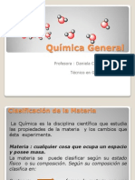 Quimica General Clase 1