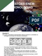 questões CRONOLOGIA (2014 )