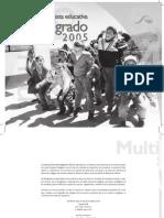 Propuesta Educativa Multigrado 2005