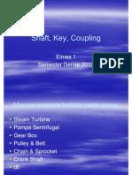 Elmes1 Shaft Key Coupling