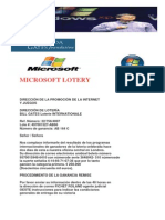 Microsoft Lotery 1
