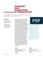 Adhesifs Et Inflammation