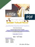 Parashat Emor # 31 Adul 6014