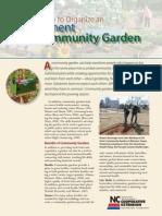 How to Organize an Allotment Community Garden