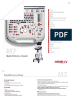 Ultrasound m7 Quick Reference Guide