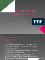 Strategija Marketinga Poslovnih Tržišta