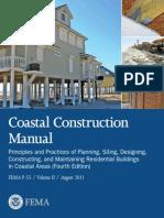 FEMA Coastal Construction Manual