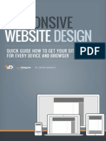 Responsive Website Design 1WD