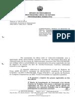 2013 - Parecer PGE Nº 015 - Reequilíbrio e Reajuste Em Ata de Registro de Preços