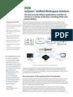 Datasheet OneSpace-Unified-Workspace (en) 439575