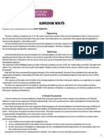 Kingdom Ways Lesson 19