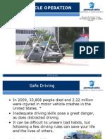 Safe Vehicle Operation