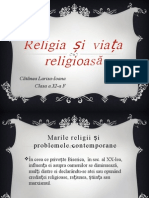 Religia Și Viața Religioasă