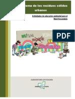 Residuos Urbanos Actividades Didacticas Nivel Secundario