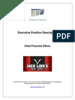 Executive Position Profile, CFO, Jack Link's