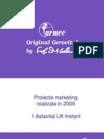 Proiect Marketing 2009